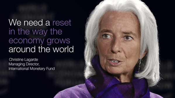 Global Currency Reset IMF Discussion - If only we knew what she did.
