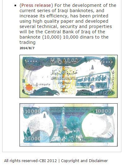 Forex trading iraqi dinar news