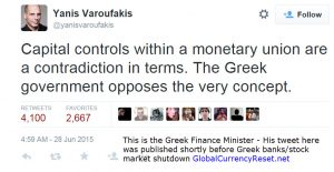 greek finance minister capital controls