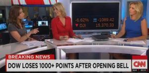 1000 point drop dow djia stock market